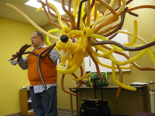 Andrew McDonald Lion Head Balloon1