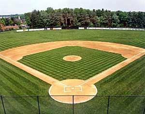 Softball-diamond