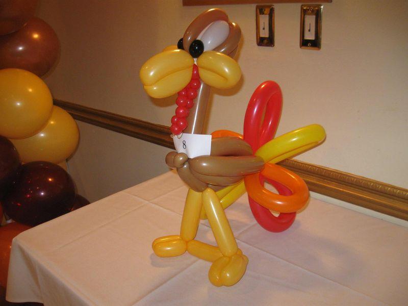 Turkey-Balloon-Animal