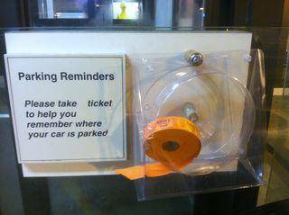 Parking Reminder at University of Michigan